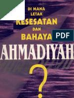Dimana Letak Kesesatan Dan Bahaya Ahmadiyah-r. Ahmad Anwar