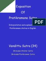 8 Explanation Pratikramana :VANDITTU SUTRA