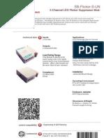 SmartBus G4 Flicker-S (Data Sheet) V2