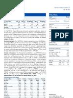 Infotech Enterprises-1Q FY 2014