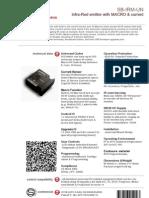 SmartBus G4 Ir Macro (Data Sheet) v2
