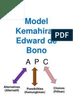 Model Kemahiran Edward de Bono