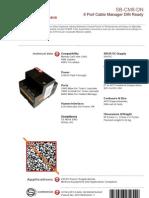 SmartBus G4 Sb-cm8-Dn ( Data Sheet)