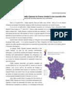 180713_Communiqué FedEx_Le développement de FedEx Express en France conduit à une nouvelle offre