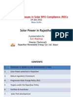 Solar Power in Rajasthan_Mr. B.K.makhija (RRECL)_24.07.2012