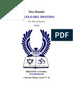 Heindel Max - El Velo Del Destino Rc14