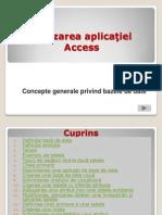 Aplicatia Access