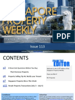 Singapore Property Weekly Issue 113