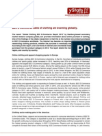 Press Release_Global Clothing B2C E-Commerce Report 2013