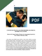 Artículo - Masculinidad y fútbol