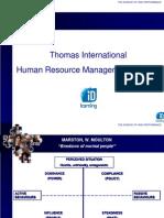 Personality AssessPersonality Assessment - Thomas Intl proposal.pptment - Thomas Intl Proposal