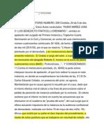 Rubio Mañez Perencion