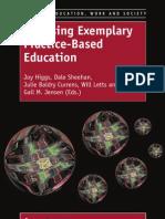 Realising Exemplary Practice Based Education