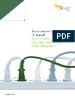Quel modèle d'externalisation dans votre entreprise - www.metrecarre.ma