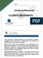Cliente Incognito