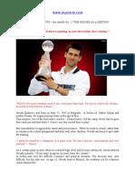 Novak Djokovic ~ WWW.INASTUTE.COM