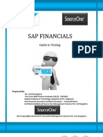 Sap Financials - Guide to Testing
