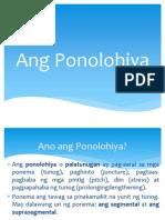 PONOLOHIYA