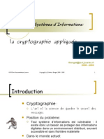 Crypto Appliquee 2009