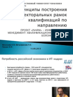 Design principles of sectoral qualifications frameworks
