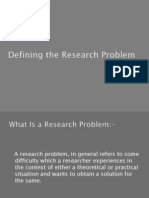 2_Defining the Research Problem