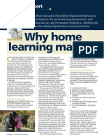 Why Home Learning Matters