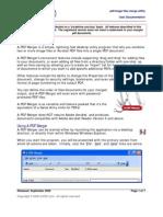 A PDF Merger Manual