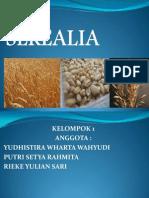 Teknologi Produksi Tanaman Kelas K Cereal Crop