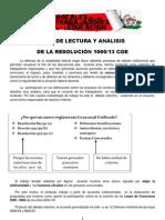 Material Sobre Resol 1000 - Vocales Rojo y Negro - Julio 2013