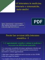 Epi 14 - Revisioni Di Letteratura e Meta-Analisi - CT
