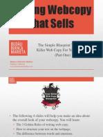 Writing Web Copy That Sells (Part 1)