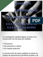 Presentación de EPIDEMIOLOGIA MEDIDAS LOIDA Y DORIS