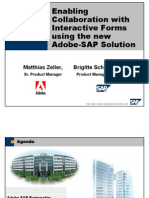 Adobe - SAP Joint Solution for Interactive Forms