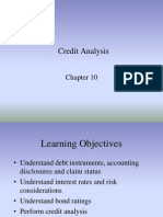 lecture notes for FSA (credit analysis)