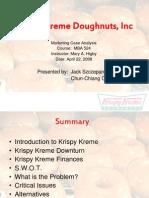 Krispy Kreme-Case Study Solution Finance.ppt