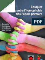Eduquer contre l'homophobie dès l'école primaire