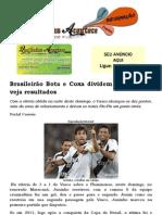 Brasileirão Bota e Coxa dividem a liderança; veja resultados