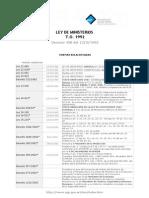 Ley de Ministerios Actualizada 2011