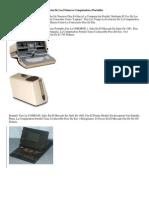 Precios De Los Primeros Computadores Portátiles