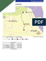 Map - Ravensbourne Station to West Oak