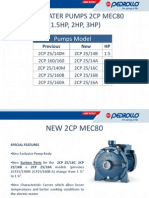 2CP Pumps (Pedrollo) Italy
