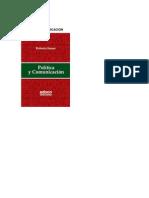 Libro Politica y Comunicacion - Roberto Samar