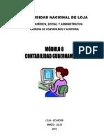 Modulo Ocho Contabilidad Gubernamental