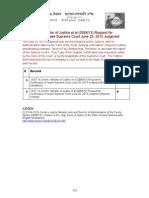 13-07-14 Zernik v Minister of Justice et al (2689/13) Request for Certification of Israeli Supreme Court June 25, 2013 Judgmentudg record