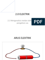 2.1 Cas,Arus Dan Medan Elektrik