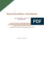 Curso Planes de Cierre Minero Documento Completo