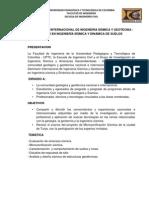 Informacion III Seminario Internacional Ingenieria Sismica y Geotecnia-uptc