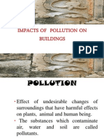 Impacts of Air Pollution on Building Material