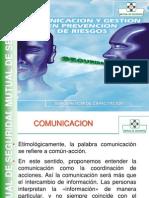 Comunicacion y Gestion en Prevencion