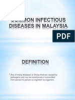 Common Infectious Diseases in Malaysia.2